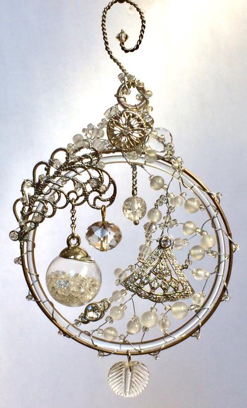 "Crystal Ball - sold  (2.75"" x  5"")"